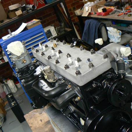 John Spinks posts engine rebuild photos