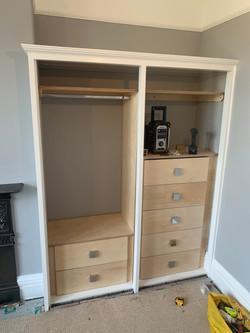 Birch Plywood drawers