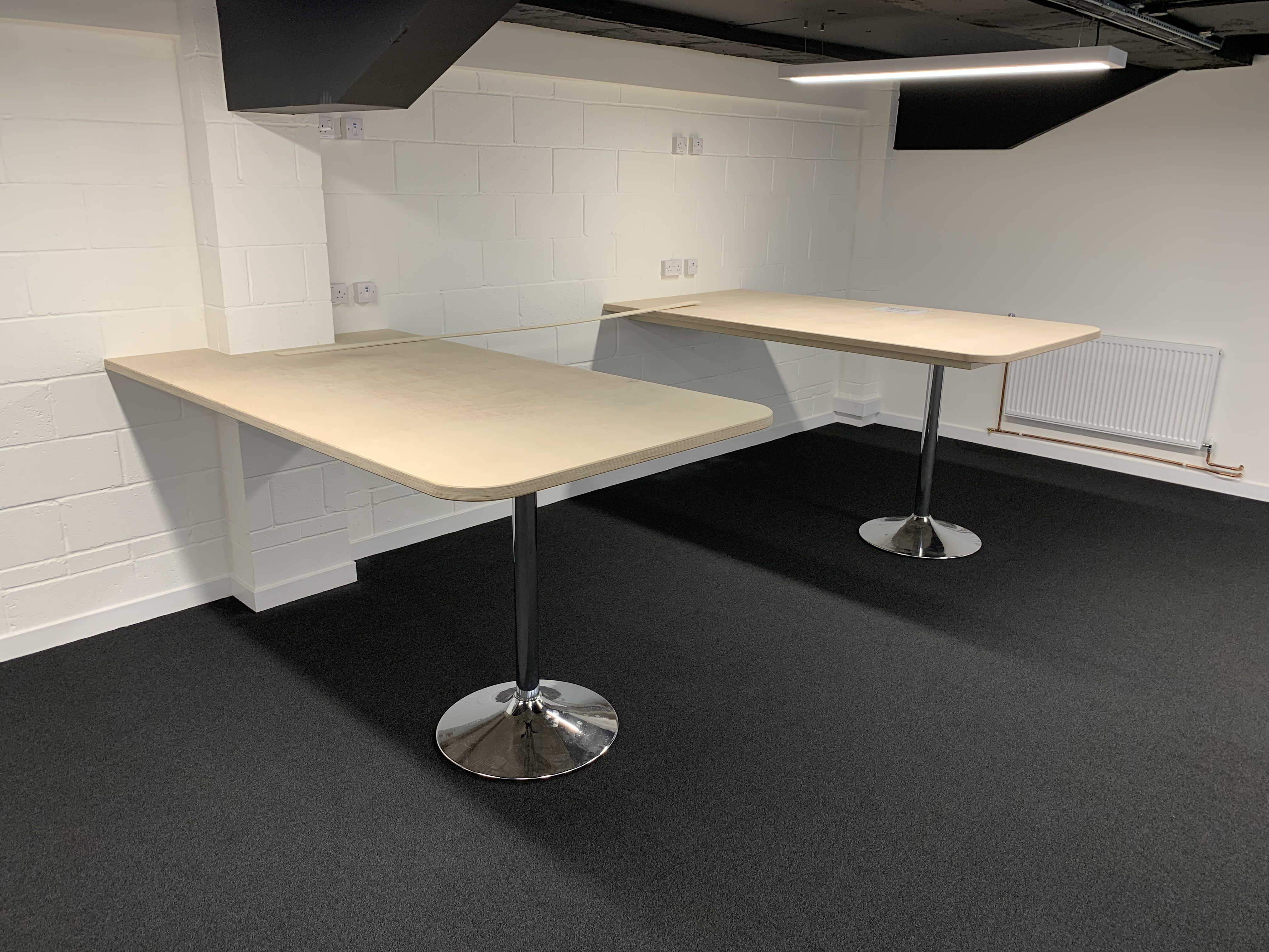 Birch plywood conference tables