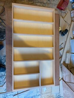 Beech drawer insert