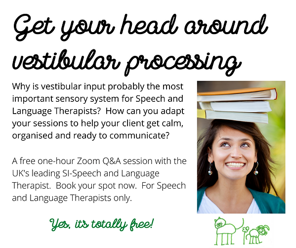 Get your head around vestibular processi