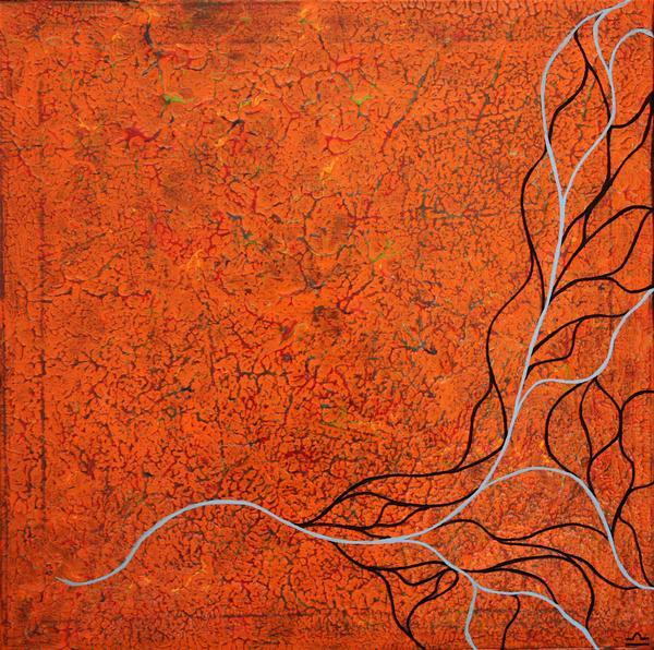 Introspection orange 1