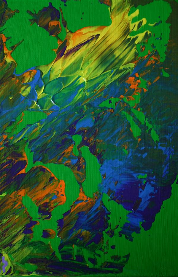 Green abstract (35x20)