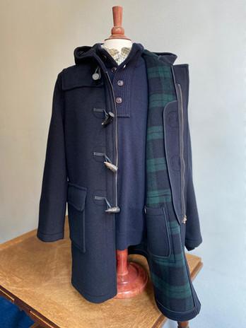London Tradition Duffle Coat Navy