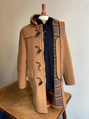 London Tradition Duffle Coat Camel