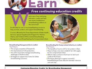 Free Continuing Education Credits
