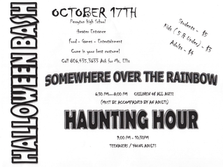 Perryton High School Halloween Bash!