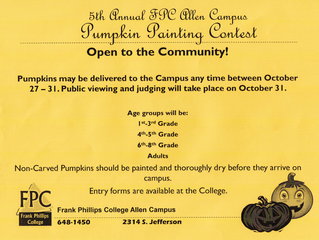 FPC Pumpkin Painting Contest!