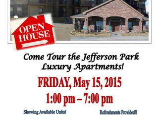 Jefferson Park Apartments Open House