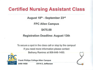 Courses at FPC
