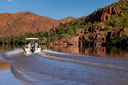 Boating Ord River