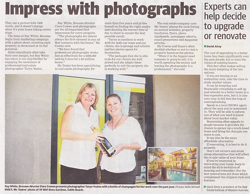Broome Real Estate Photographer