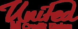 united credit transparent logo- Red (124