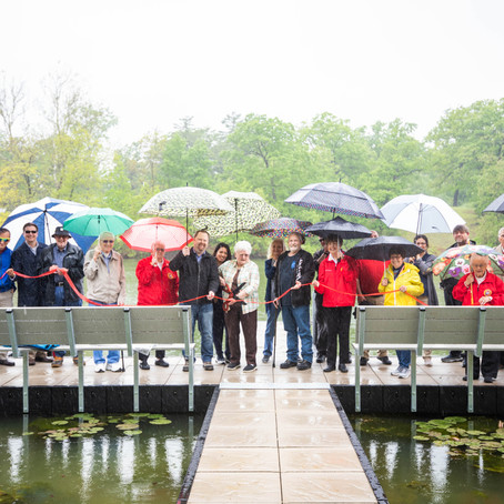 NEW FISHING DOCK UNVEILED