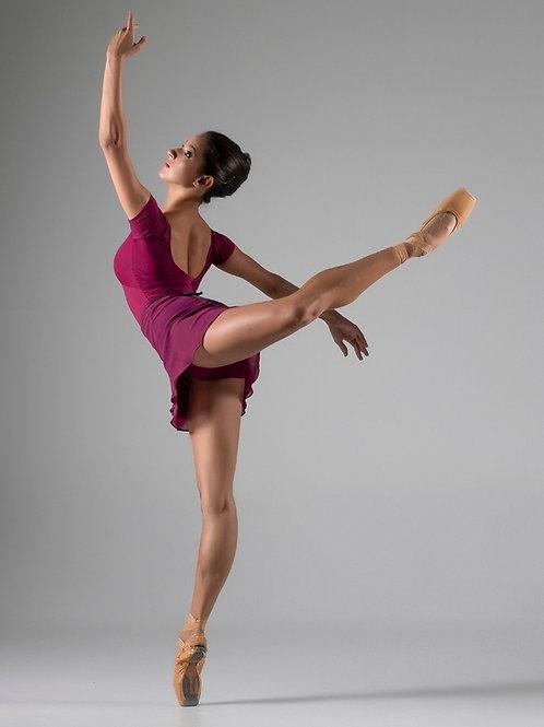 Saia tulipa para ballet