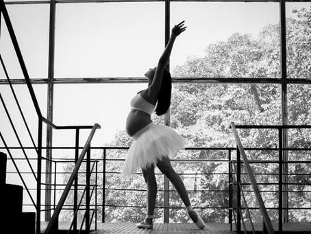 O ballet durante a gestação