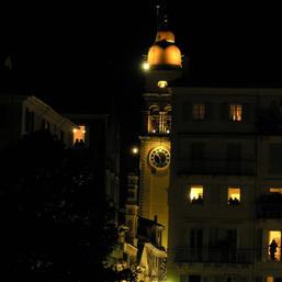 The bell tower of St. Spyridon