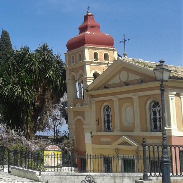 The church of Virgin Mary Mandrakina