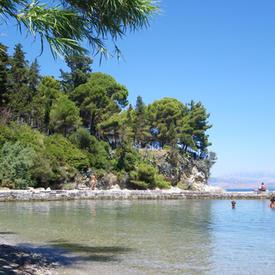Η παραλία του Μον Ρεπό