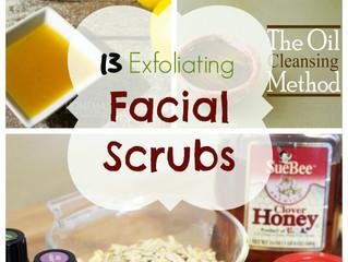 13 simple exfoliating face scrubs
