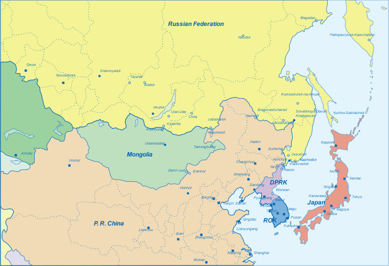 What role can Mongolia play in NE Asia? Credit: erina.or.jp