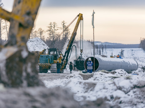 Russia's pipeline project across Mongolia is picking up steam