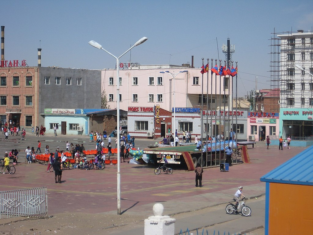 ADB says the money will benefit border communities such as Zamyn Uud. (Credit: Wikimedia Commons)