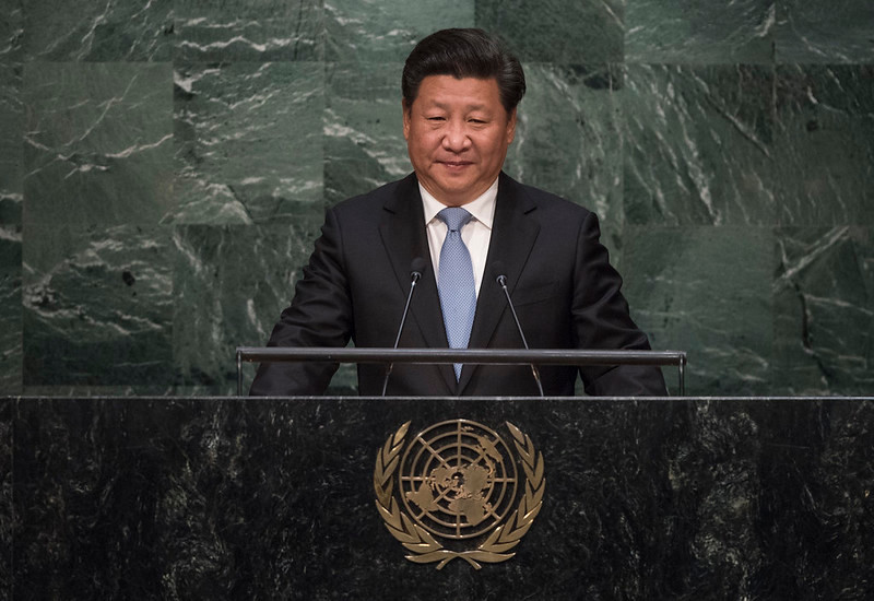 Chinese President Xi Jinping has cemented his rule. (Image via the UN)