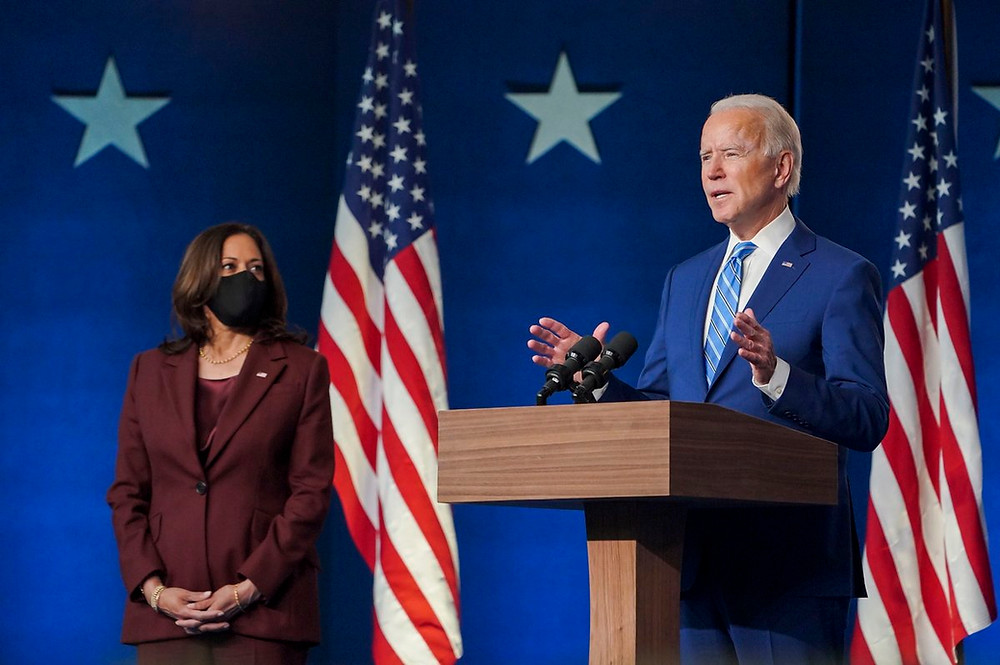 Joe Biden has been elected as the next US president. (Image via Twitter)