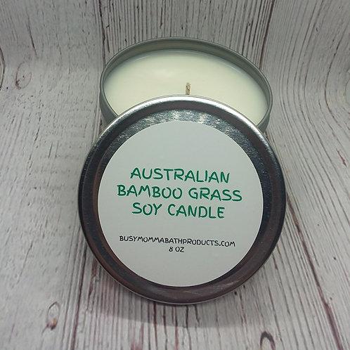 Australian Bamboo Grass Soy Candles