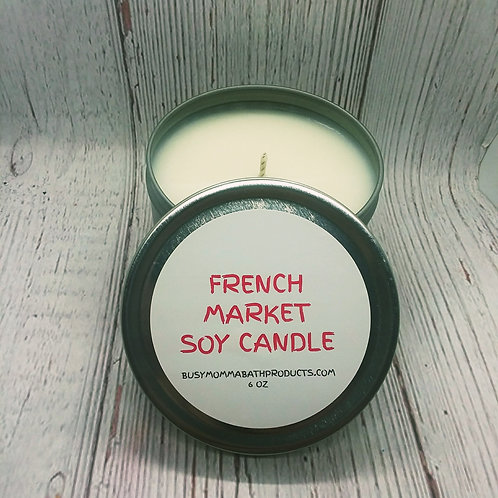 French Market Soy Candles