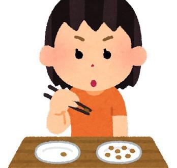 お箸の練習