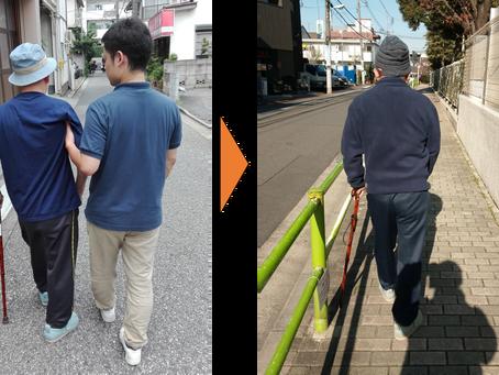 症例報告➀(右片麻痺の男性)