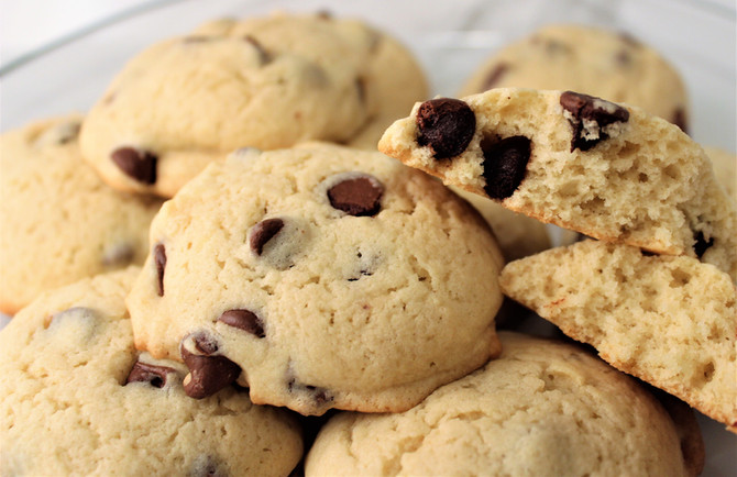 Granny's Fluffy Chocolate Chip Cookies