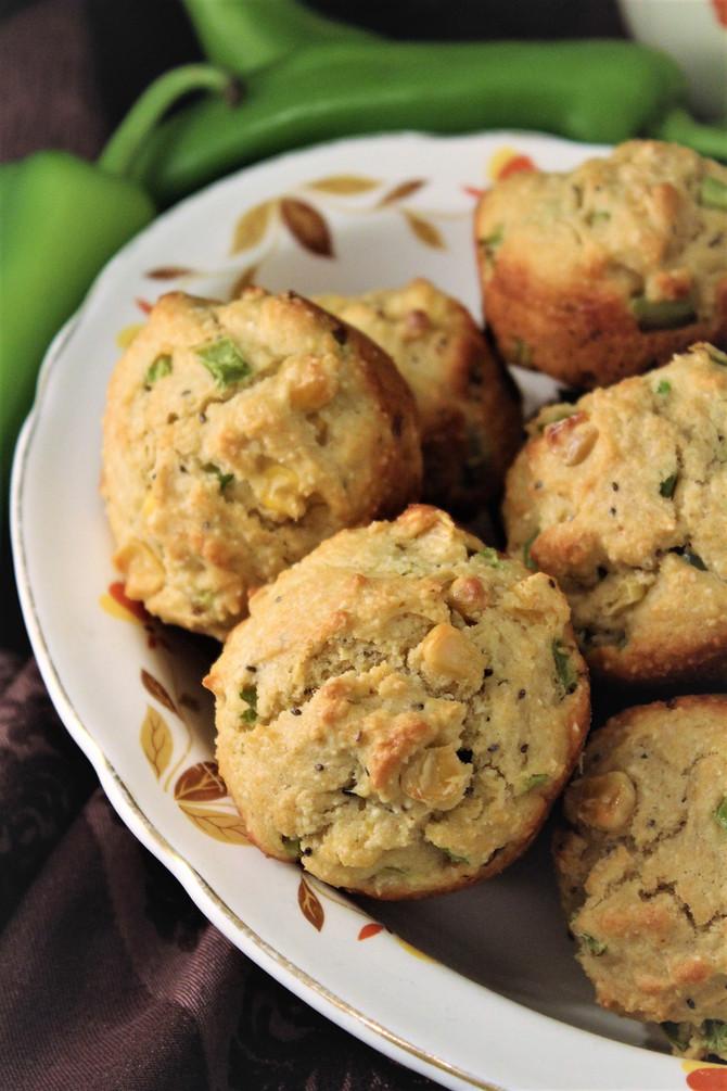 The Ultimate Texas Lone Star Chile Verde Cornbread Muffins