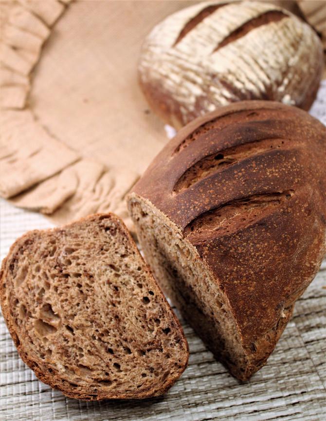 Peasant Rye Bread