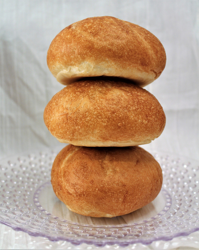 Texas Homemade Hamburger Buns
