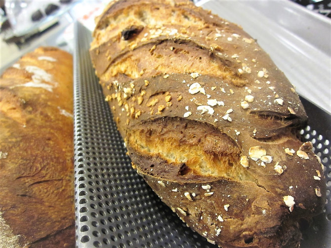 Caramel Apple No-Knead Artisan Bread