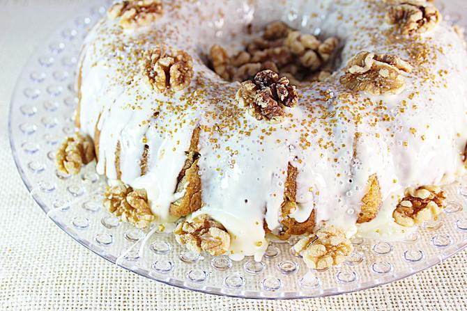 Texas Banana Rum Bundt Cake