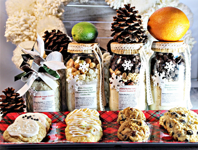 Four Delicious Homemade Cookie Mixes