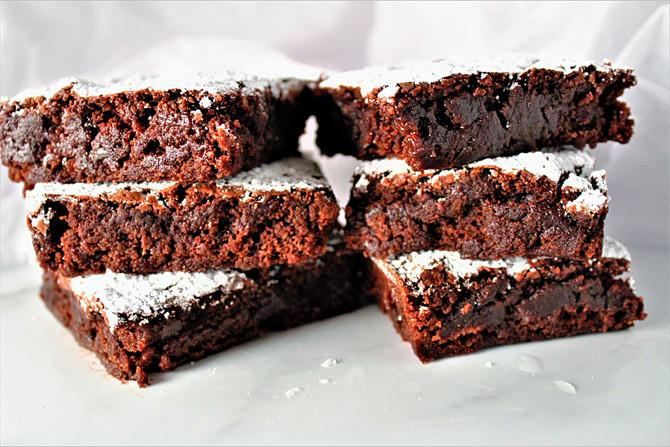 Texas Sheet Fudge Brownies