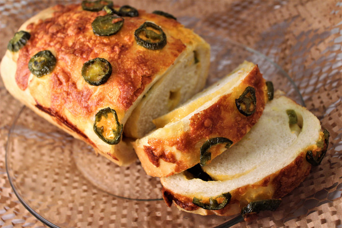 Tex-Mex Make-Ahead Nacho Cheese Jalapeño Bread