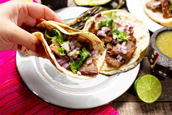 Best Carne Asada with Homemade Tortillas