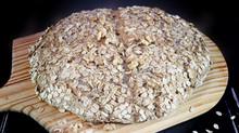 Oatmeal-Walnut Soda Bread