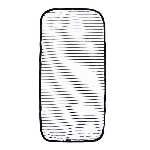 Stroller liner | White stripes