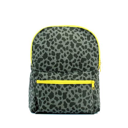 Kids backpack | Mini Max Leopard Olive Green