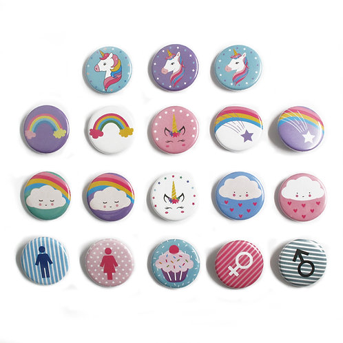 Heidi | Button pins | Designed button pins
