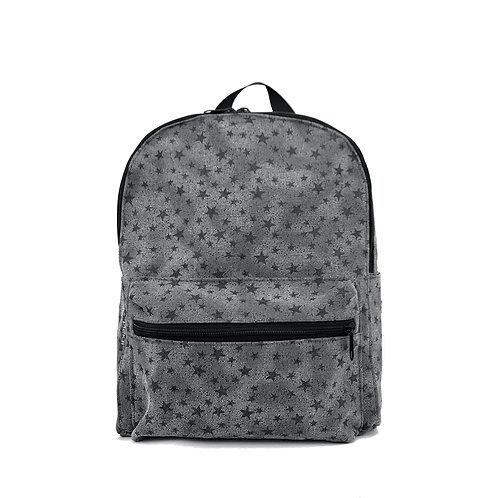 Kids backpack | Mini Max Grey Stars