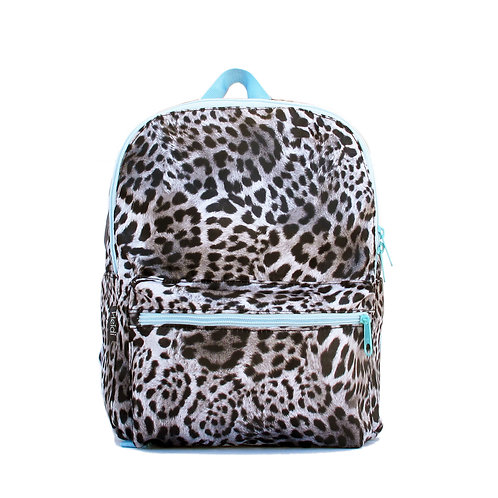 Kids backpack | Mini Max Leopard Grey