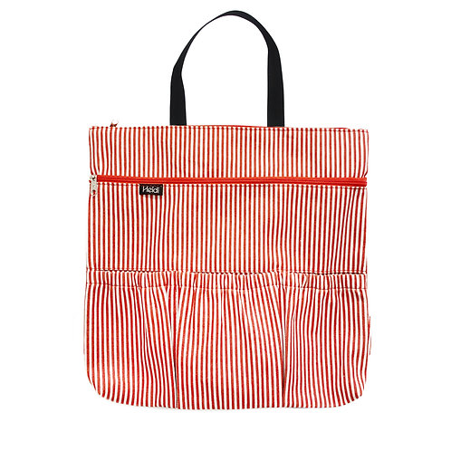 Stroller bag | Basic Stripes Red